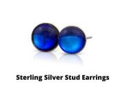 Buy elegant crystal small stud earrings from leightworks