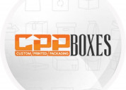 Custom printed packaging boxes (cpp boxes)