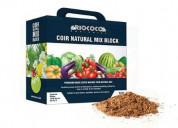 Coco peat hydroponics from riococo