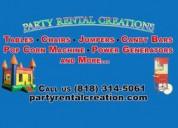 Party rental creation - farm table rental calabasa