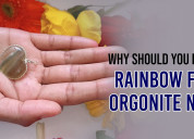 Why should you purchase our rainbow flourite orgon