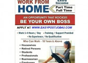 Work from home jobs, earn rs.350/- per hour