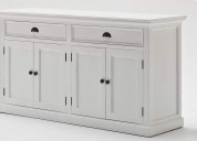 Wide contemporary buffet for your living rooms