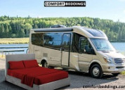 Get comfortable & durable camper bed sheets