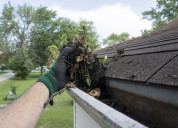 Excellent gutter installation and replacement serv