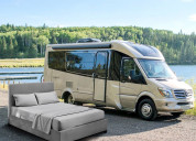 Wrinkle-free & long-lasting camper sheets