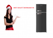 Rca rfr786-black 2 door advanced quality fridge