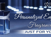 Personalized engraved fragrances just for you