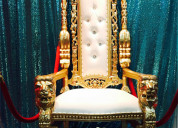 Throne chairs for rent
