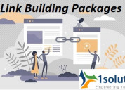 Link building packages by 1solutions