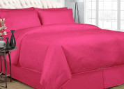 Classy hot pink bedding in a bag set