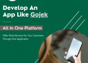 Launch your own gojek clone script in 6 days