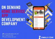 Home services app development  - on demand home se