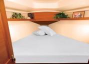 Universal v-berth bedding sheets