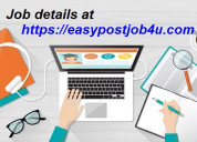 Salary rs.35,000/- part time online income from yo