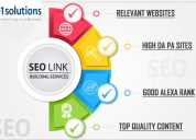 Link building services for agencies, marketers & s