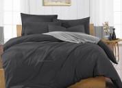 Find the great dark grey duvet cover queen size