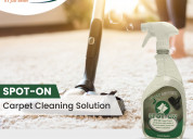 Carpet and fabric stain and odor remover