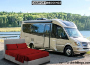 Choose sheets and rv bedding sets for rvs