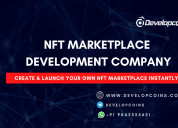 Nft marketplace development:-