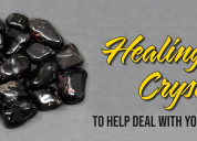 Healing crystals that helps to improve your studie