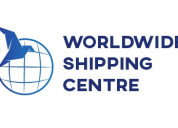 Worldwide shipping center