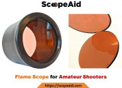 Flame scope for amateur shooters | scope aid