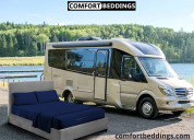 Choosing sheets and bedding for rv