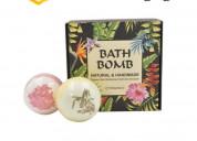 Buy custom printed bath bomb boxes at wholesale ra