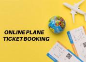 Online plane ticket booking