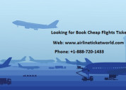 Looking for book cheap flights tickets