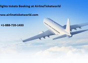 Best flight ticket booking at airlineticketworld