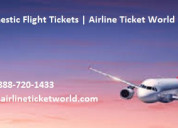 Cheap domestic flight tickets | airlineticketworld