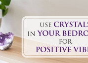Get a positive vibes in your bedroom by placing a