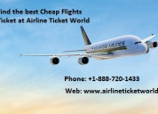 Find the best cheap flights ticket at atw