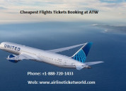 Cheapest flights tickets booking at atw