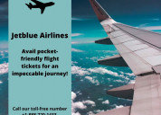 Jetblue airline reservation for cheap flights!
