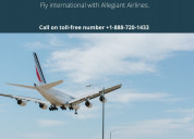 Allegiant airlines toll-free number!