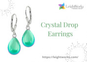 Buy one crystal drop earrings and get oneat 50%off