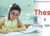 Get online thesis writing | ziyyara