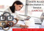 Oracle account reconciliation cloud service (arcs)