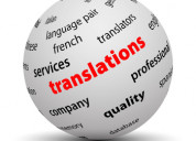 Drivers license translation