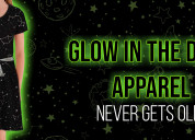 Glow in the dark apparel-never gets old!