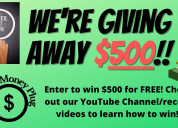 $500 give away!