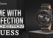 Know about the best watches from guess
