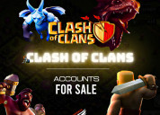 Best online clash of clan account for sell via esp