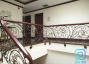 Best supplier of ornate wrought iron stair railing