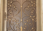 Custom and classic wrought iron doors