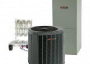 Trane 3 ton 14 seer electric hvac system includes