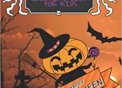 Happy halloween coloring book for kids: original &